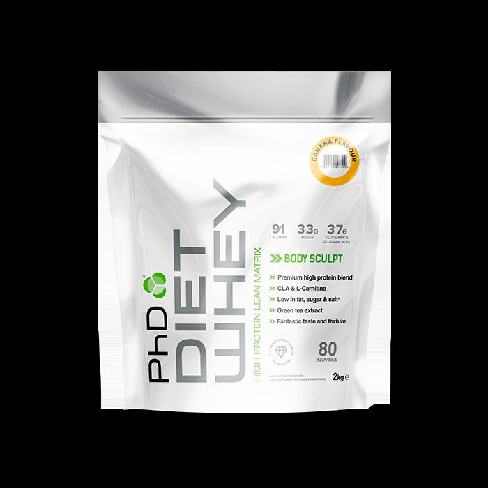 PhD Nutrition Diet Whey Protein - 2kg (Choose flavour)