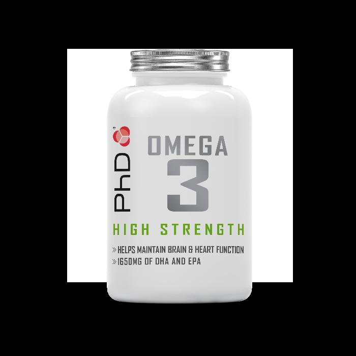High Strength Omega 3 - Softgels