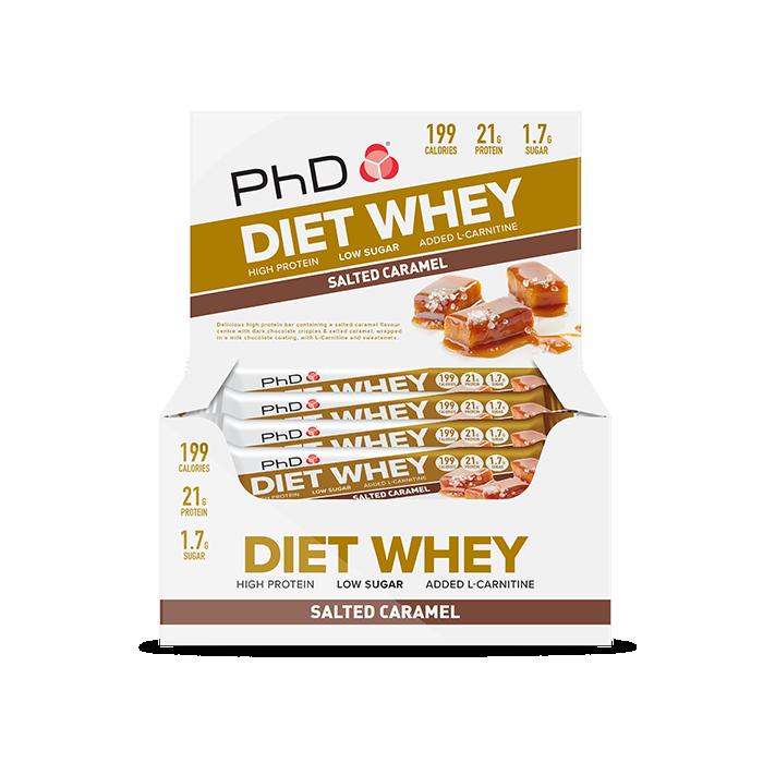 Diet Whey Bar Salted Caramel - 12 pack