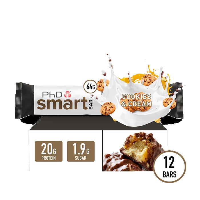 Smart Bar Cookies & Cream - 12 pack