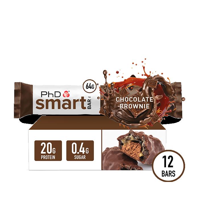 Smart Bar Chocolate Brownie - 12 pack