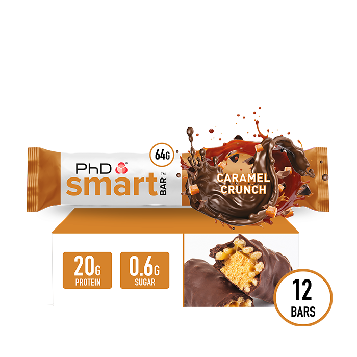 Smart Bar Caramel Crunch - 12 pack