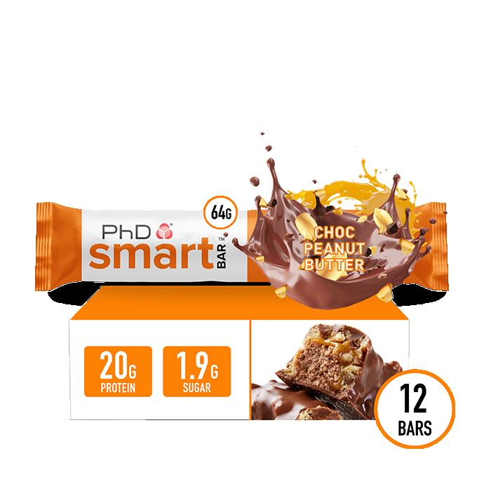 Smart Bar Choc Peanut Butter - 12 pack