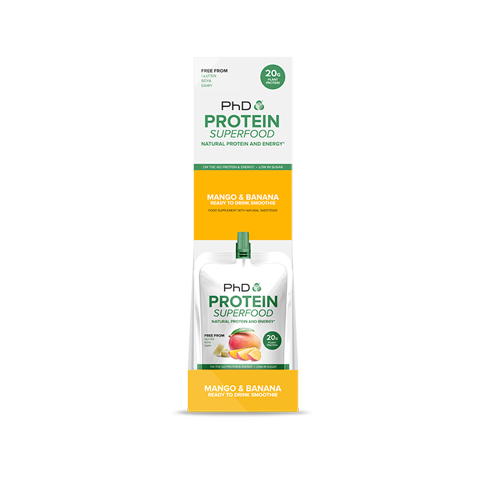 Protein Superfood Squeezy 8 x 130g