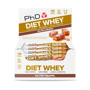 Diet Whey Bar Salted Caramel - 12 pack