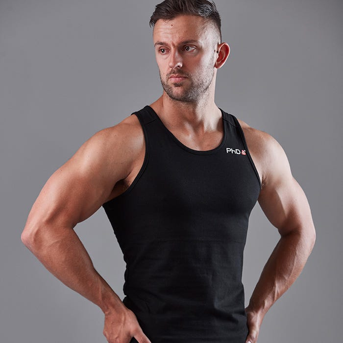 Mens Fitted Tank