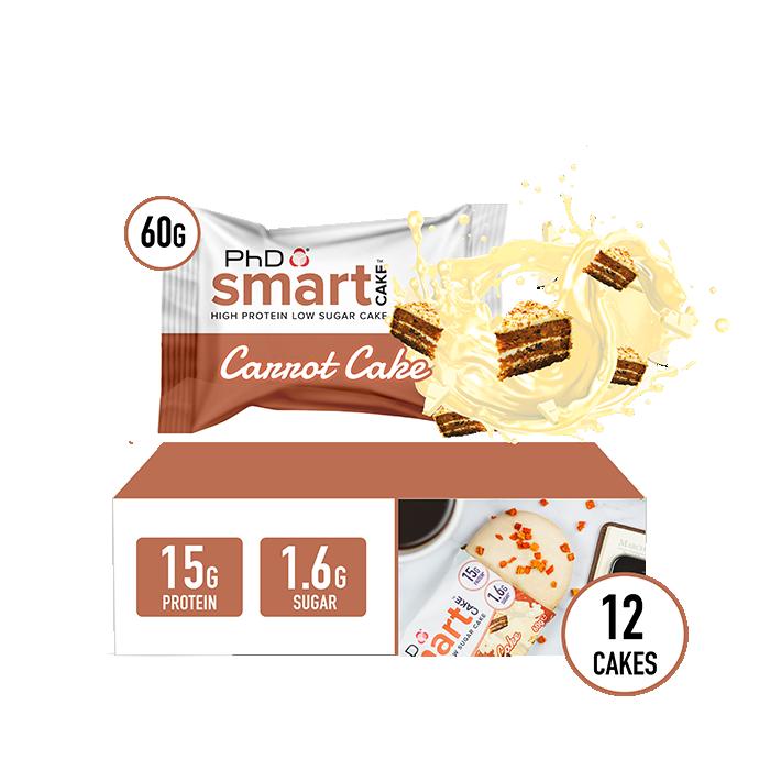 Smart Cake Carrot Cake - 12 pack