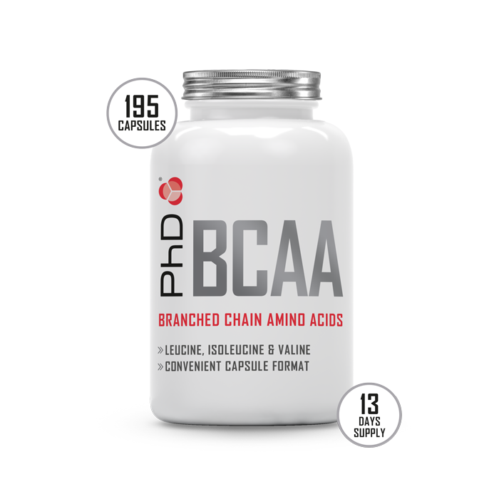 BCAA's capsules - 195 x 500mg
