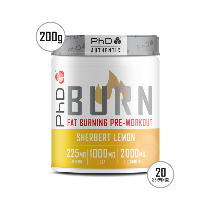 Burn Pre-Workout Powder - 200g