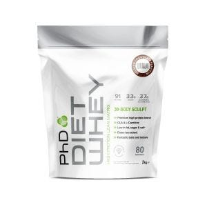Diet Whey 2kg Pouch Belgian Chocolate