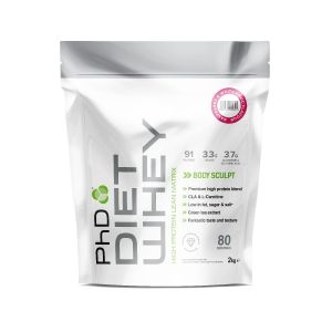 Diet Whey 2kg Pouch Raspberry & White Chocolate