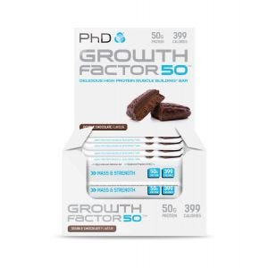 Growth Factor 50 Bar Double Chocolate - 12 pack