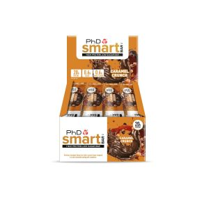 PhD Smart Bar Caramel Crunch (12 x 64g)