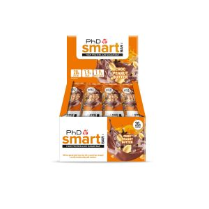 PhD Smart Bar Choc Peanut Butter (12 x 64g)