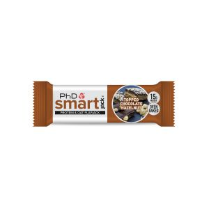 Smart Jack Bar Single - Topped Chocolate Hazelnut 1 x 60g