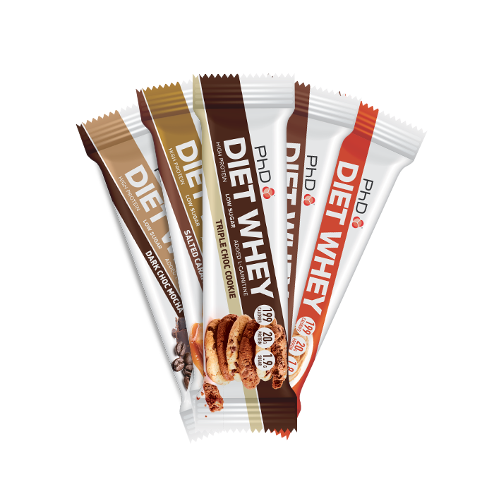 5 x Diet Whey Bar Mix & Match