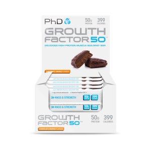 Growth Factor 50 Bar Chocolate Orange - 12 pack