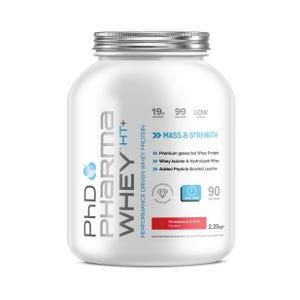 Pharma Whey HT+ 2.25Kg  Strawberry Creme - 30.04.2020 Best Before