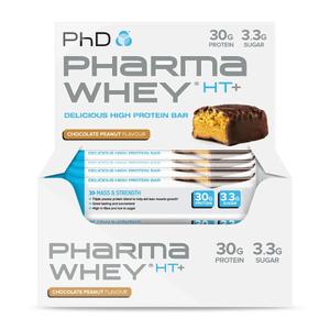 Pharma Whey HT+ Bar Chocolate Peanut - 12 pack