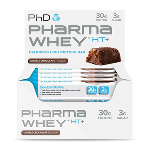 Pharma Whey HT+ Bar Double Chocolate - 12 pack