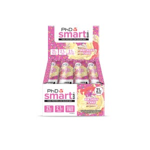 Smart Bar Birthday Cake - 12 pack