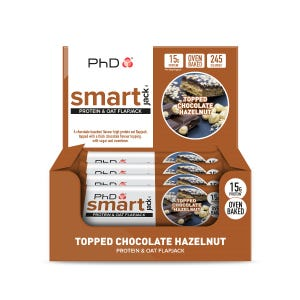 Smart Jack Topped Chocolate Hazelnut - 12 pack