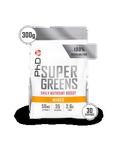 Super Greens Powder Mango - 300g