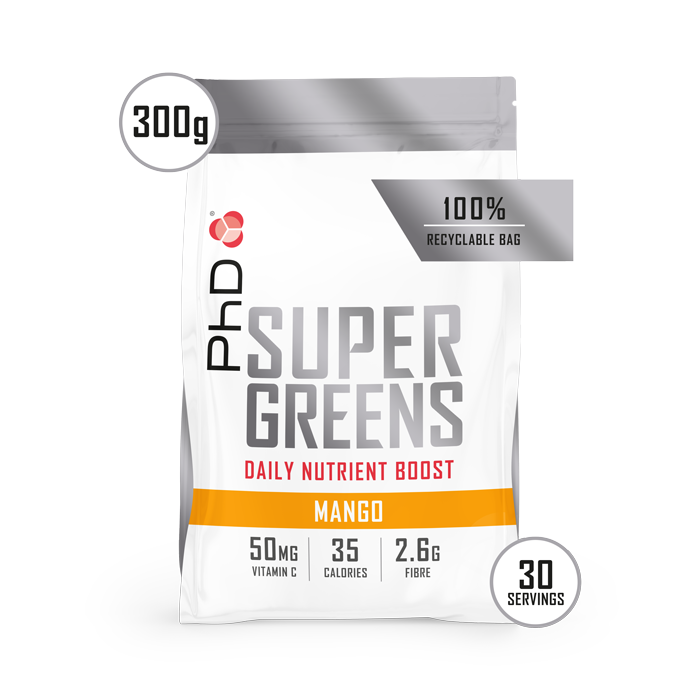 Super Greens Powder Mango - 300g