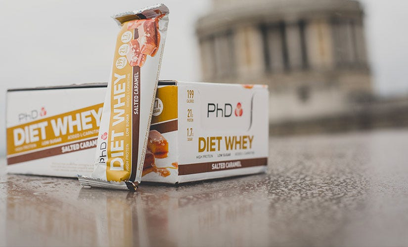 PhD Diet Whey Bars
